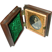 SALE Antique Tintype Gutta Percha Frame