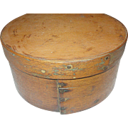 SALE Primitive Wooden Storage Box