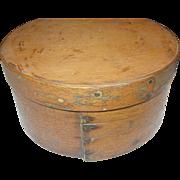 SALE Primitive Wooden Storage Box