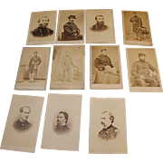 SALE Civil War Carte de Visite Generals & Lieutenants of New York Regiments Sheridan, Custer,