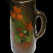 SALE Vintage Weller Art Pottery Pitcher