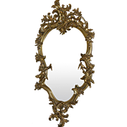 SALE Rococo Gold Gilt Mirror 18th Century