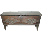 SALE Antique Sugar Chest 1590's - 1600's