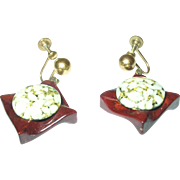 SALE Vintage  Drop Earrings