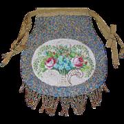 SALE Vintage Micro Bead Bead Handbag 1890's