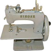 SALE Vintage Singer Sew Handy Singer Toy Sewing Machine 1953