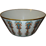 SALE Vintage Lenox Lg Porcelain /Enamel Bowl