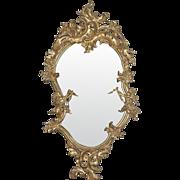 SALE Rococo Gold Gilt Mirror 18th Century