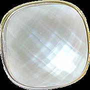SALE Vintage Sterling Lg Runway Ring