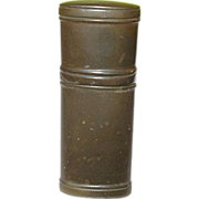 SALE Antique Gutta Percha Match Safe