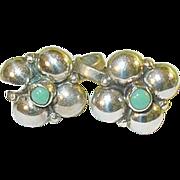 SALE Vintage Sterling & Turquoise Earrings