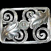 SALE Vintage Sterling Danish Brooch Modernist Design