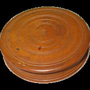 SALE Vintage Treen Ware Box
