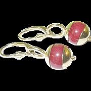 SALE Vintage 14K Drop Earrings