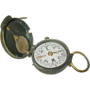 SALE Vintage WW I Compass U.S. Engineer Corps by Cruchon & Eamons