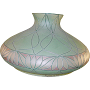 SALE Art Deco Handel Co Lamp & Shade