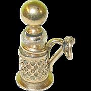 SOLD Vintage Gold Filled Perfume Bottle Charm