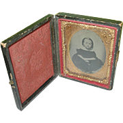 SALE Daguerreotype  Child's Portrait & Case