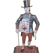 SALE Vintage Figural Advertizing Clock