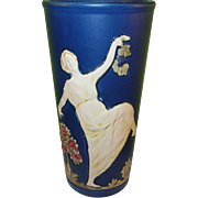 SALE Vintage Weller Art Pottery Dancing Lady