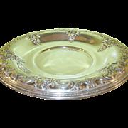 SALE Vintage Sterling Grande Baroque Sandwich Platter by Wallace
