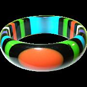 SALE Carlos Sobral Resin Bangle Multicolored