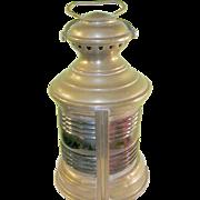 SALE Antique Brass Ship Lantern Miller & Co.