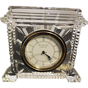 Waterford Crystal Colliseum Desk Clock