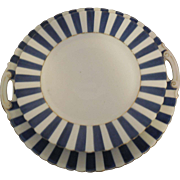RS Prussia Silesia Cake Plate and 4 Dessert Plates