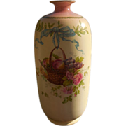 Shelley late Foley Porcelain Hand Painted Vase
