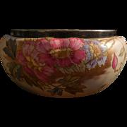 Antique Porcelain 1910 Royal Bonn Hand Painted Floral Bowl