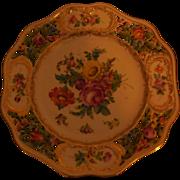 Carl Thieme Saxonian Porcelain Factory Dresden Plate-Marked