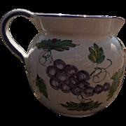 Deruta Italian Pottery Pitcher Jug