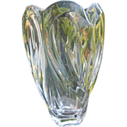 "Waterford Crystal Marquis ""Sweet Memories"" Vase"