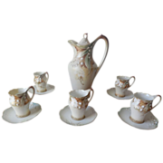 RS Prussia Lily of Valley Chocolate Set , Mold 473, FD49a Floral