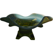 Jefferson Topaz Opalescent Glase Whimsey Bowl