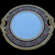 """Vintage Bernardaud Limoges D&C France 10"""" Porcelain Decorative Plate"""