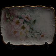 T & V Limoges Victorian Porcelain Tray