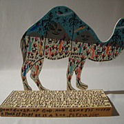 REDUCED The Desert Taxi (Camel) by legendary Howard Finster