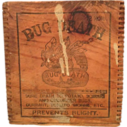 Bug Death Wooden Box