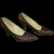 Joseph Custom Barefoot Originals stilettos with original box - late 50s, early 60s.