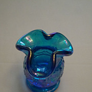 1970s Fenton Pedestal Toothpick Whimsy