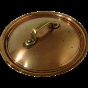 "Vintage Heavy Cooper Saucepan Lid – 7 ½"" diameter"