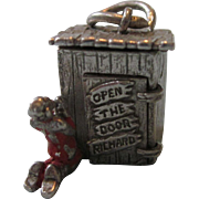 Rare Open the Door Richard Sterling Outhouse Charm