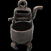 1940's Sterling Rijnger Washing Machine Mechanical 3-D Charm