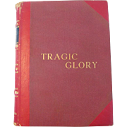 SALE Rare Book Autographed Tragic Glory Bullfighting Biography, 1960, by Valeriano Salceda  ..