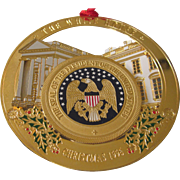 1996 White House Christmas Ornament