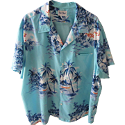 Vintage Authentic Hawaiian 1980's Shirt, Kai Nani Hawaii, XXL or XXXL