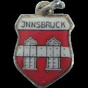 Vintage Innsbruck Enamel 800 Travel Charm
