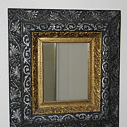 SALE Outstanding Victorian Wood and Gilt Wall Mirror